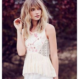 NWT Free People Moonglow Whimsy Blouse